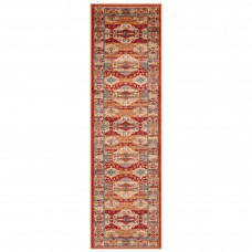 Valeria Traditional Runner - 8024R Red