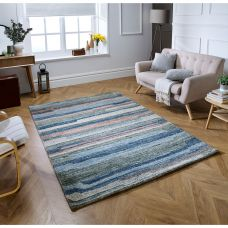 Vista Striped Rug - Multi