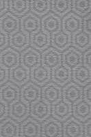 Camden Pattern Geo Saxony Carpet - Platinum 95