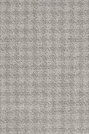 Camden Pattern Houndstooth Saxony Carpet - Fawn 39