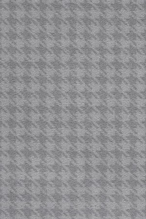 Camden Pattern Houndstooth Saxony Carpet - Pearl 95