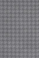 Camden Pattern Houndstooth Saxony Carpet - Slate 97