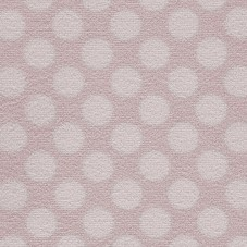 Camden Pattern Polka Dot Saxony Carpet - Sorbet 60