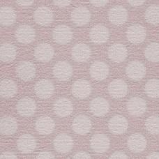 Camden Pattern Polka Dot Saxony Carpet - Sorbet