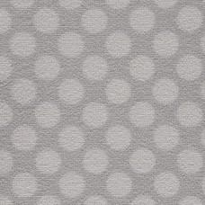 Camden Pattern Polka Dot Saxony Carpet - Pewter