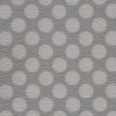 Camden Pattern Polka Dot Saxony Carpet - Smoke