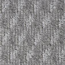 Diamond Loop Pile Carpet - Silver