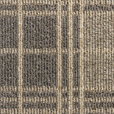 Dundee Tartan Loop Carpet - Greige