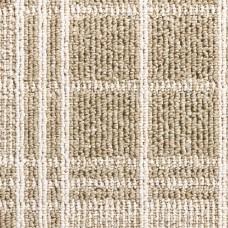 Dundee Tartan Loop Carpet - Light Beige