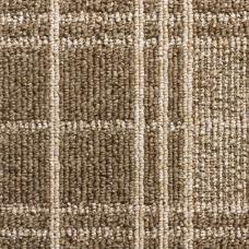 Dundee Tartan Loop Carpet - Brown