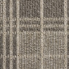 Dundee Tartan Loop Carpet - Platinum