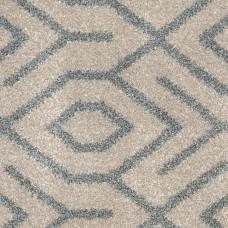 Moonlight Wilton Pattern Carpet - Cream/Grey