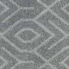 Moonlight Wilton Pattern Carpet - Grey/Light Grey