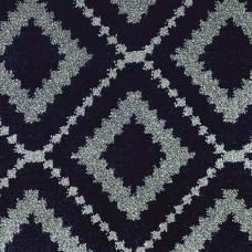 Moonlight Wilton Pattern Carpet - Navy/Grey 1840