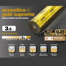 Gold Supreme 3.5mm Super High Density Laminate Underlay