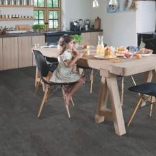 Ambient Click Tile LVT - Black Slate