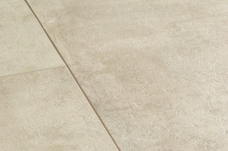 Ambient Click Tile LVT - Cream Travertin