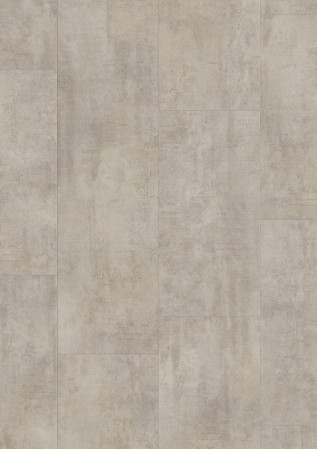 Ambient Click Tile LVT - Light Grey Travertin
