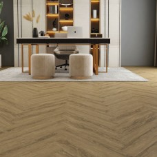 Natural 40 Wood LVT - Colorando Herringbone Oak
