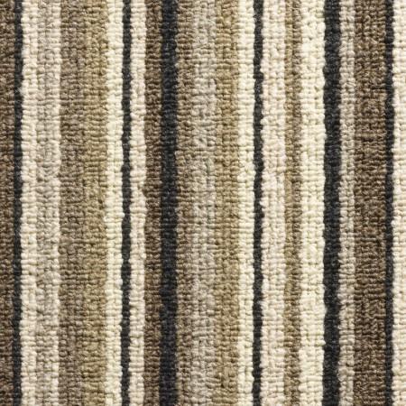 Oxford Stripe Loop Carpet - Brown 9717