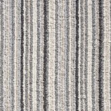 Oxford Stripe Loop Carpet - Light Grey 9721
