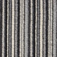 Oxford Stripe Loop Carpet - Grey 9725