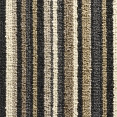 Oxford Stripe Loop Carpet - Anthracite 9728