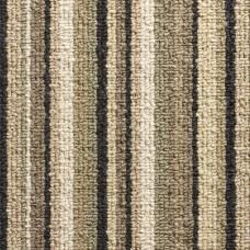 Oxford Stripe Loop Carpet - Green 9744