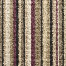Oxford Stripe Loop Carpet - Purple 9766