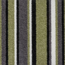 Funky Stripe - Green Carpet