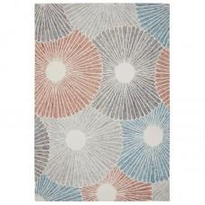 Gardenia Wool Floral Rug - Seashell