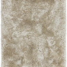 Plush Ultimate Shaggy Silk Rug - Pearl