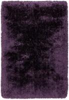 Plush Ultimate Shaggy Silk Rug - Purple