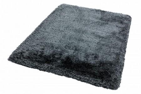 Plush Ultimate Shaggy Silk Rug - Slate