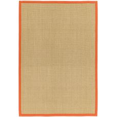 Sisal Rug - Orange