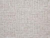 New Bahia Pattern Carpet - Cream