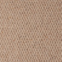 Rolling Hills Pure Wool Loop Carpet - Milkcap