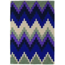 Matrix - Cuzzo Purple Wool Rug - Max22