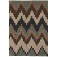 Matrix - Cuzzo Chocolate Wool Rug - Max24