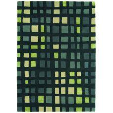 Matrix - Plaza Green Wool Rug - Max28