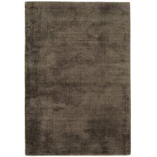 Blade - Dense Viscose Luxury Plain Rugs - Chocolate