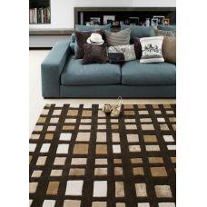 Matrix - Plaza Chocolate Wool Rug - Max25