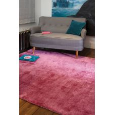 Cloud Soft Plain Pink Rugs