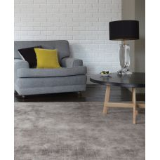 Blade - Dense Viscose Luxury Plain Rugs - Silver