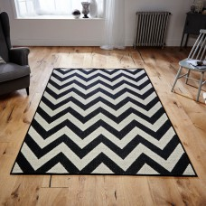 Malmo 1503x Black / Cream Rug