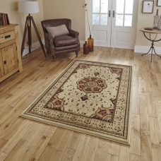 Legacy Traditional Rugs - 4400 Cream / Red