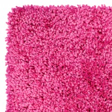 Machine Washable Shaggy Rugs - Elegant Pink