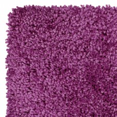 Machine Washable Shaggy Rugs - Elegant Purple