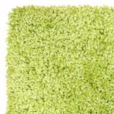 Machine Washable Shaggy Rugs - Elegant Green