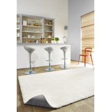 Machine Washable Shaggy Rugs - Elegant White